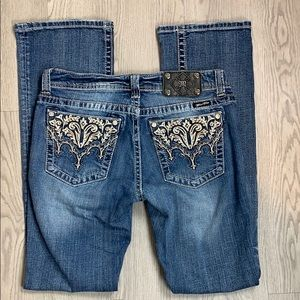Miss Me embellished bootcut jeans 30*31